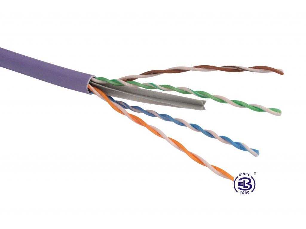 Kabel datový Cat 6 FTP LSOH balení 500m SOLARIX