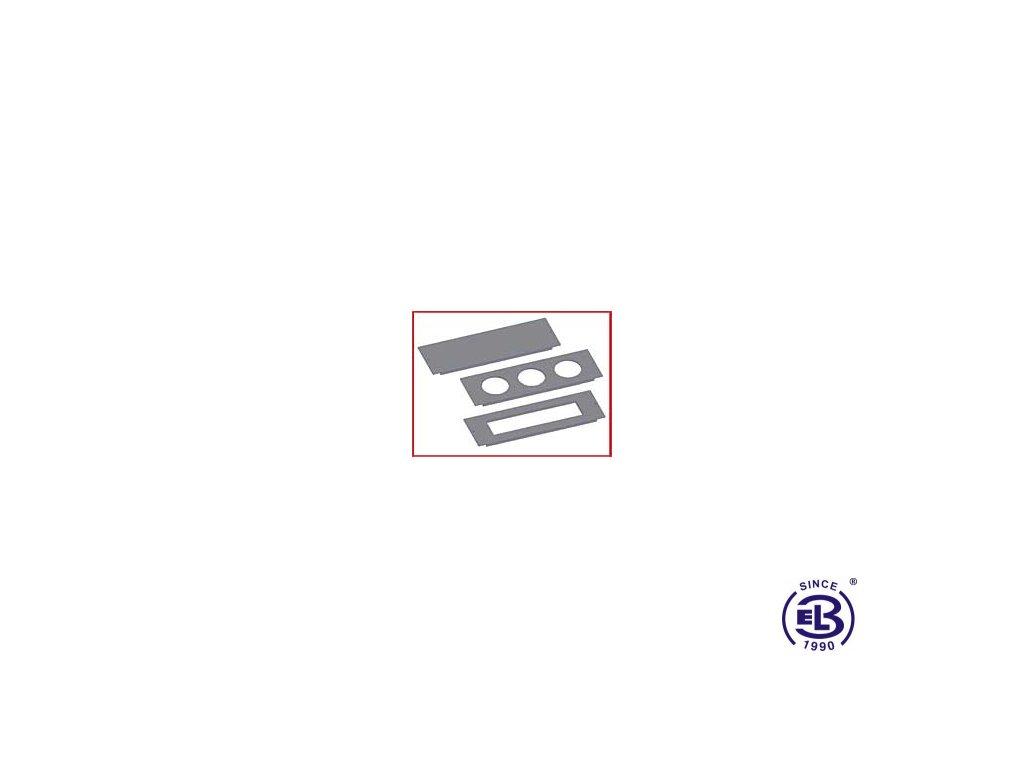 Přístrojová podložka 250x81, PP 80/45 KOPOS