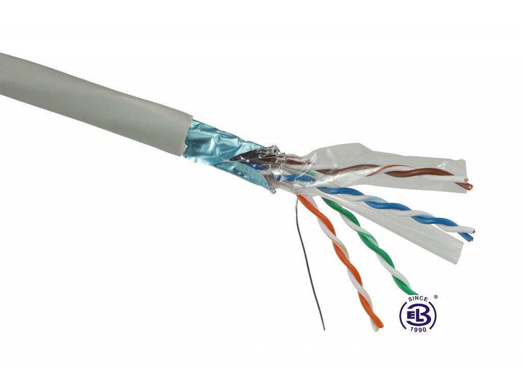 Kabel datový Cat 6 FTP PVC SOLARIX / metráž