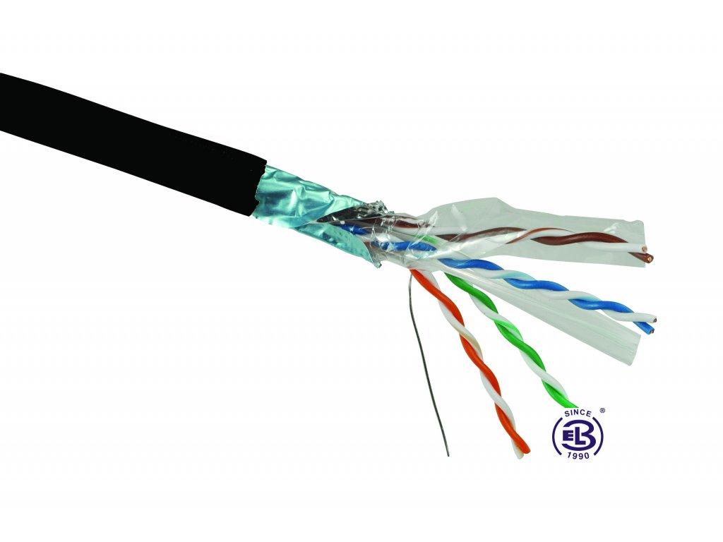 Kabel datový Cat 6 FTP PE SOLARIX / metráž
