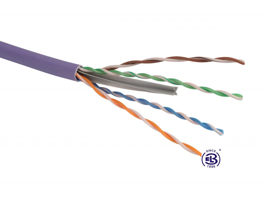 Kabel datový Cat 6 FTP LSOH SOLARIX / metráž