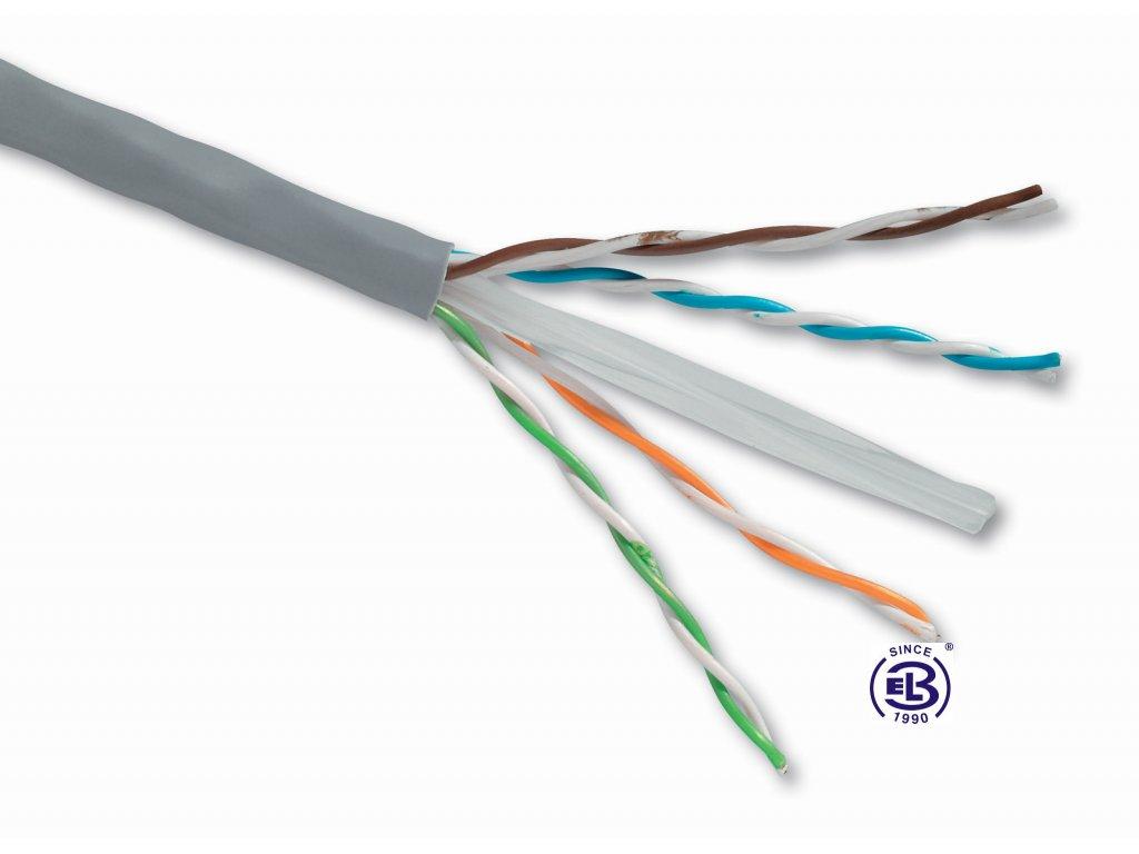 Kabel datový Cat 6 UTP PVC SOLARIX / metráž