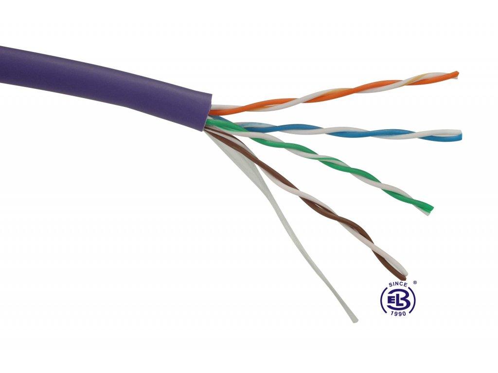 Kabel datový Cat 5E UTP LSOH balení 1000m SOLARIX