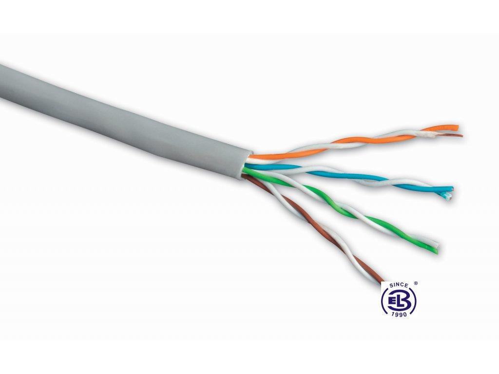 Kabel datový Cat 5E UTP PVC balení 1000m SOLARIX