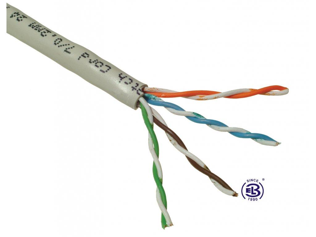 Kabel datový Cat 5E UTP PVC licna balení 305m SOLARIX