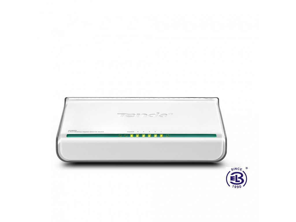 Switch 5 portů 10/100/1000 Mbps G1005D Tenda