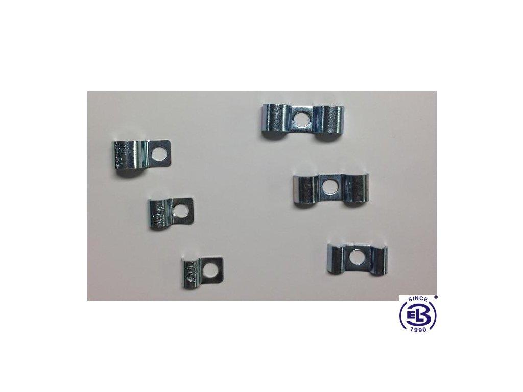 Příchytka P90-R pro 1 kabel pr. 5mm HL P1_05