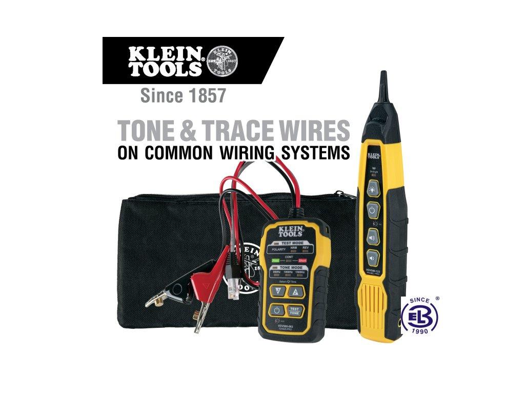 sonda s tonovym generatorem kit klein tools i5866