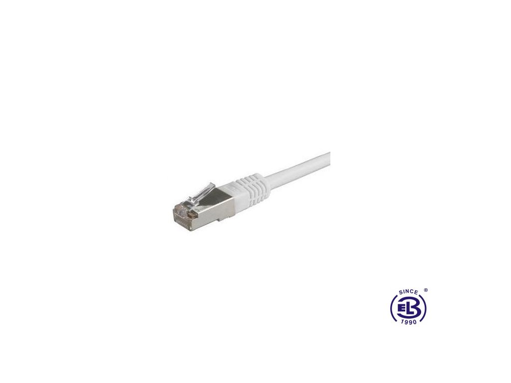 Patch kabel 10G CAT6A SFTP LSOH 0,5m šedý, non-snag-proof, SOLARIX