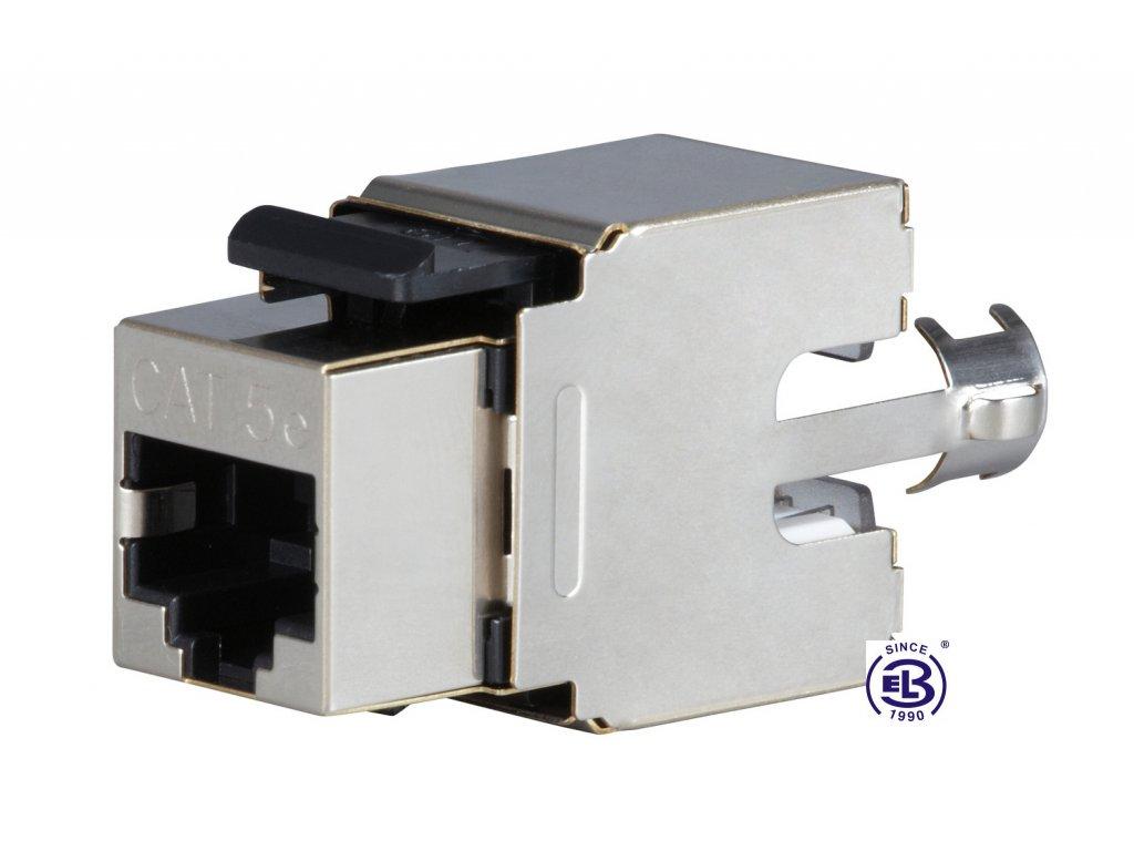 Keystone zařezávací Cat5E STP RJ45 SOLARIX