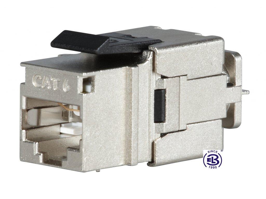 Keystone rychlozařezávací Cat6 STP RJ45 SOLARIX