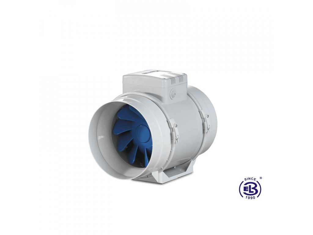 Ventilátor Turbo 100 pro ventilační potrubí BLAUBERG