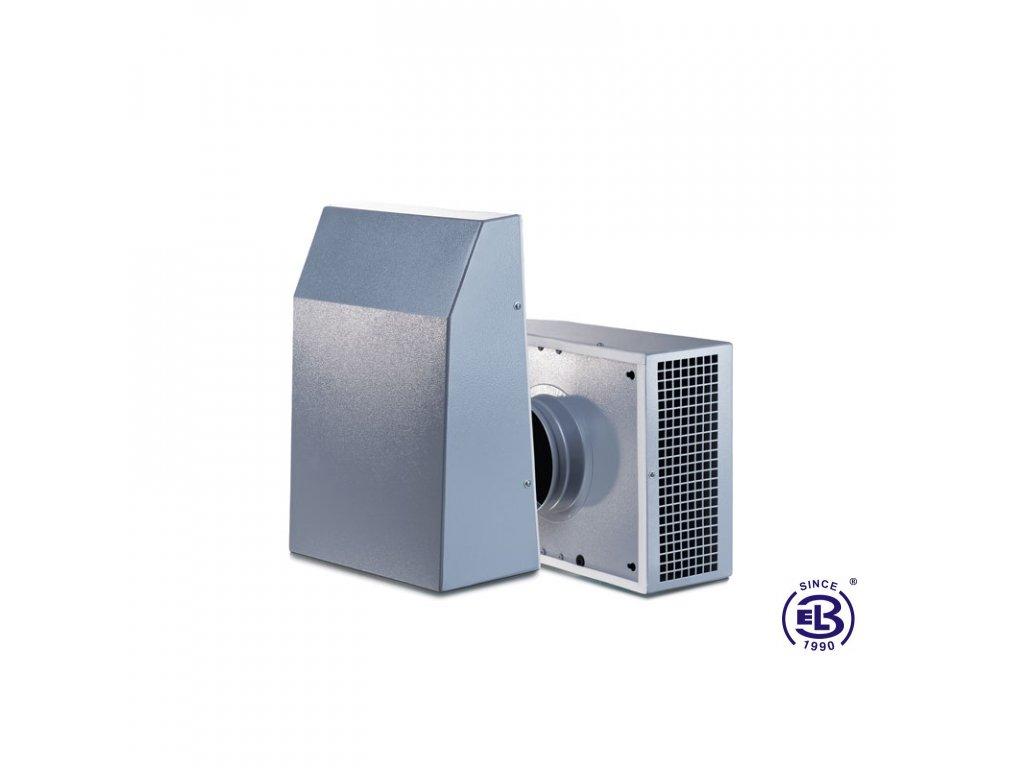 Ventilátor Extero 125 pro vertikální montáž BLAUBERG