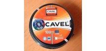 Kabel koaxiální SAT EN 50117-2-5 PE venkovní černý 100m CAVEL