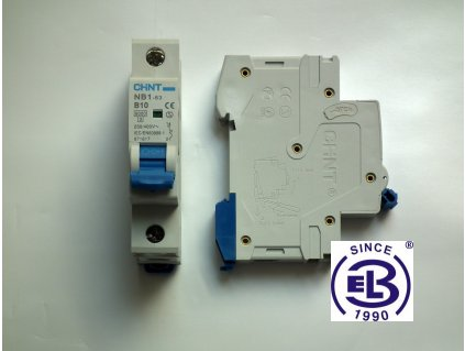 Jistič 1/1/C 6kA NB1-63 CHINT