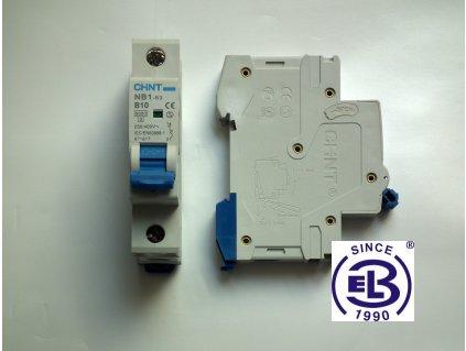 Jistič 13/1/C 6kA NB1-63 CHINT