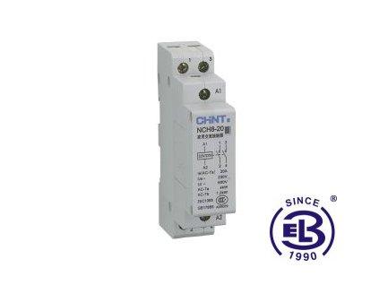Stykač modulární střídavý 230V 50Hz 2NO NCH8-20 ChiNT
