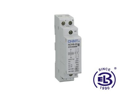 Stykač modulární střídavý 230V 50Hz 1NO+1NC NCH8-20 ChiNT