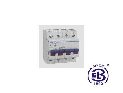 Vypínač 32A 1P 230V NH4-100 CHINT