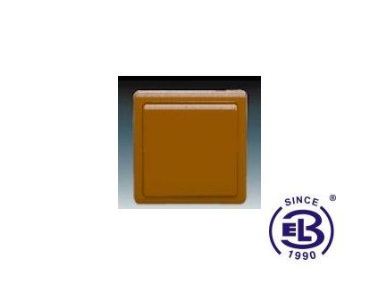 Přepínač křížový Classic, hnědý, řazení 7, 3553-07289H3 ABB