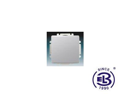 Spínač jednopólový s krytem Swing/Swing L, světle šedý, řazení 1, 3557G-A01340S1 ABB