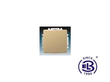 Přepínač křížový s krytem Swing/Swing L, béžový, řazení 7, 3557G-A07340D1 ABB