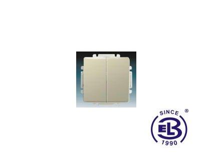 Přepínač sériový s krytem Swing/Swing L, krémový, řazení 5, 3557G-A05340C1 ABB