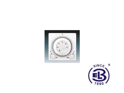 Termostat univerzální s otočným nastavením teploty Swing/Swing L, jasně bílý, 3292G-A10101B1 ABB