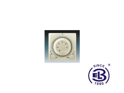 Termostat univerzální s otočným nastavením teploty Swing/Swing L, krémový, 3292G-A10101C1 ABB