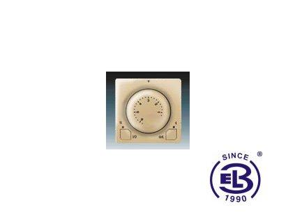 Termostat univerzální s otočným nastavením teploty Swing/Swing L, béžový, 3292G-A10101D1 ABB