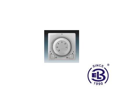 Termostat univerzální s otočným nastavením teploty Swing/Swing L, světle šedý, 3292G-A10101S1 ABB