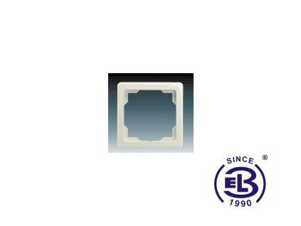 Rámeček pro elektroinstalační přístroje jednonásobný Swing, krémový, 3901G-A00010C1 ABB