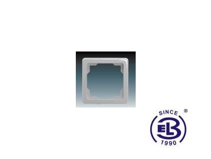Rámeček pro elektroinstalační přístroje jednonásobný Swing, světle šedý, 3901G-A00010S1 ABB