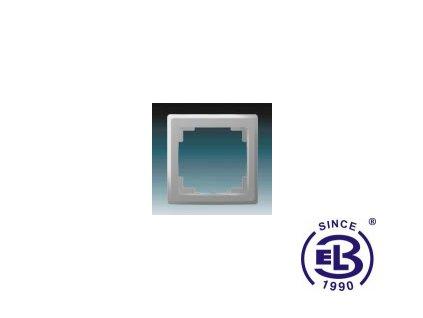 Rámeček pro elektroinstalační přístroje jednonásobný Swing L, světle šedý, 3901J-A00010S1 ABB