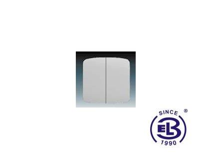 Kryt dělený Tango, šedá, 3558A-A652S ABB