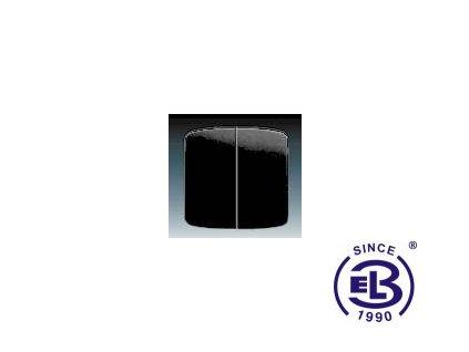 Kryt dělený Tango, černá, 3558A-A652N ABB