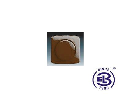 Kryt stmívače s otočným ovladačem Tango, hnědá, 3294A-A123H ABB