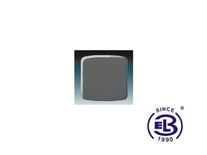 Kryt stmívače s krátkocestným ovladačem Tango, kouřová šedá, 3299A-A100S2 ABB