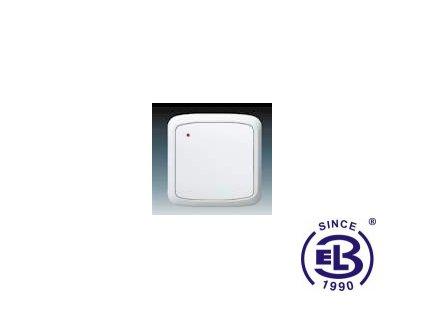 Vysílač RF s krátkocestným ovladačem, nástěnný Tango, bílá, 3299A-A11908B ABB
