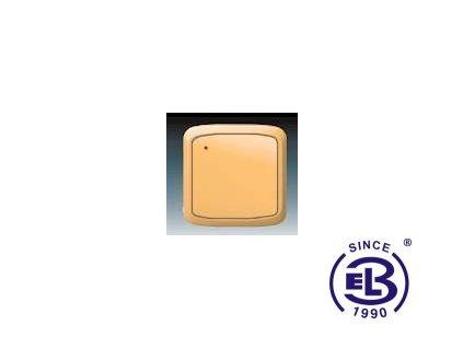 Vysílač RF s krátkocestným ovladačem, nástěnný Tango, béžová, 3299A-A11908D ABB