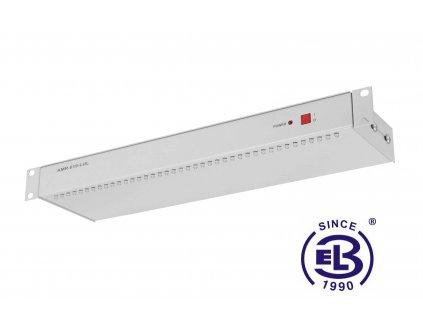 Osvětlovací jednotka diodová, výška 1U, šedá