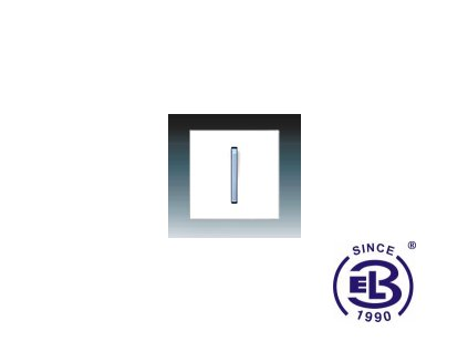 Kryt jednoduchý s páčkou Neo/Neo Tech, bílá/ledová modrá, 3559M-A0065141 ABB