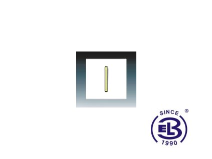 Kryt jednoduchý s páčkou Neo/Neo Tech, bílá/ledová zelená, 3559M-A0065142 ABB