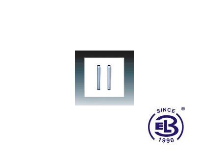 Kryt jednoduchý se dvěma páčkami Neo/ Neo Tech, bílá/ledová modrá, 3559M-A0065241 ABB
