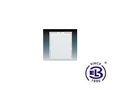 Kryt jednoduchý Element, bílá/bílá, 3558E-A0065103 ABB