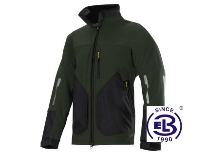 Bunda Soft Shell Windstopper, na zip 8888, Snickers Workwear
