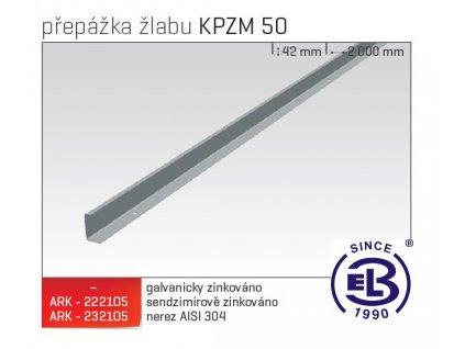 Přepážka žlabu MERKUR 2, KPZM 50 ARK - 232105 A2, ARKYS