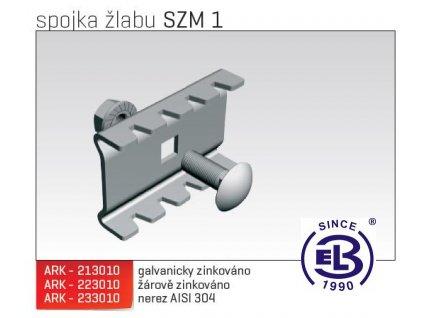 Spojka žlabu MERKUR 2, SZM 1 ARK - 233010 A2, ARKYS