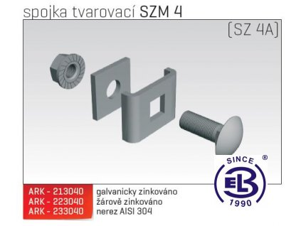 Spojka tvarovací MERKUR 2, SZM 4 ARK - 223040 ŽZ, ARKYS