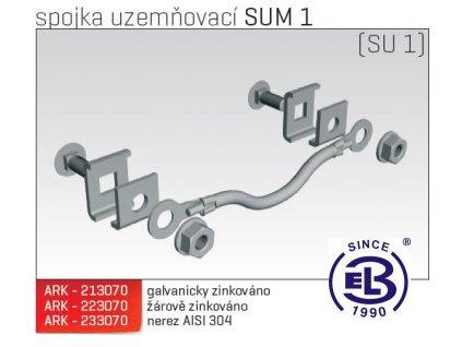 Spojka uzemňovací MERKUR 2, SUM 1 ARK - 223070 ŽZ, ARKYS